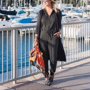 5fc2fe96fb1 CAbi Pants - Cabi Hoodie Playsuit Blogger Grey Jumpsuit